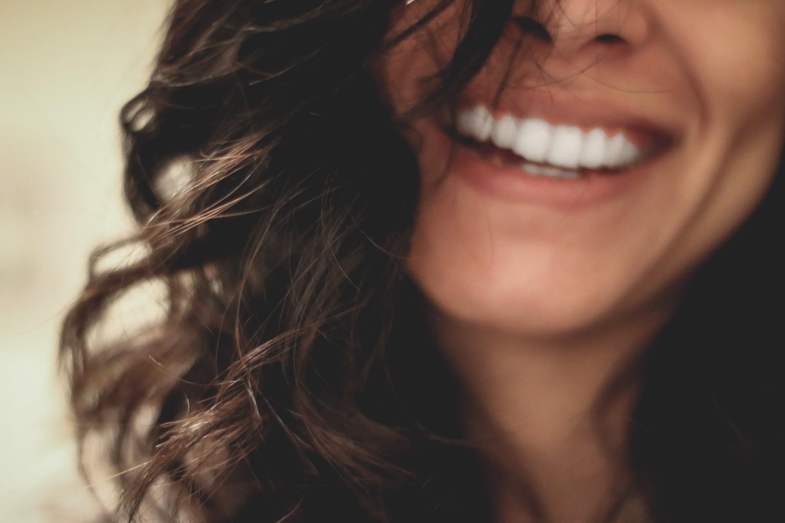 Teeth Whitening lady smiling