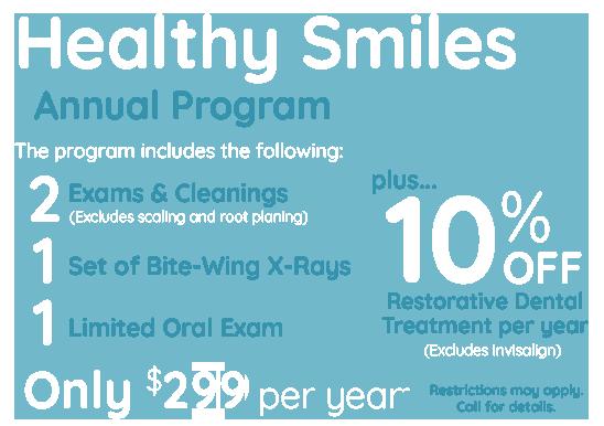 Charlotte Dentistry Specials