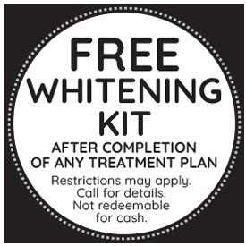 Free Teeth Whitening Kit
