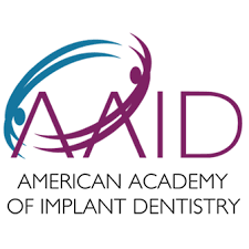 This dentist is a AMERICAN ACADEMY OF IMPLANT DENTISTRY member